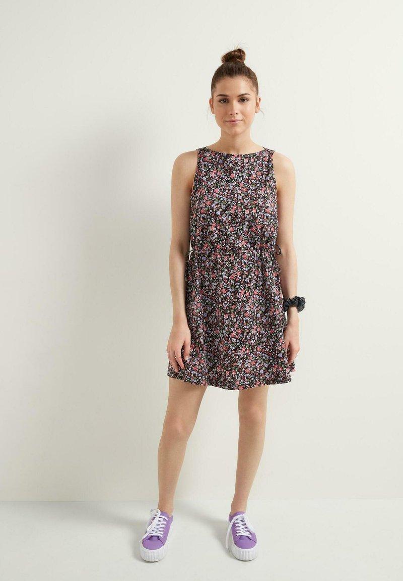 Tezenis - Day dress - nero st microflower