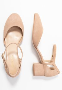 Anna Field Wide Fit - LEATHER - Klassiske pumps - nude - 3