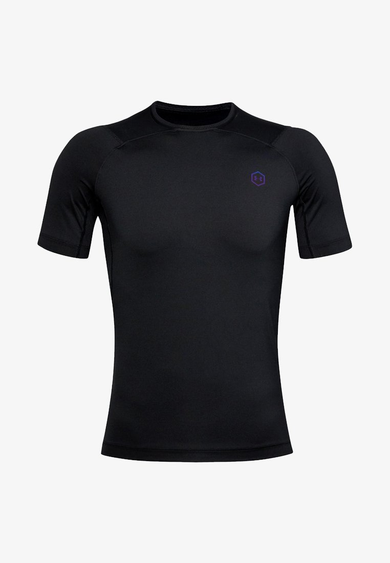 Under Armour - UA RUSH HG COMPRESSION SS - Basic T-shirt - black