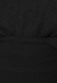 GAP - FOLDOVER  - Pyjama bottoms - true black - 4