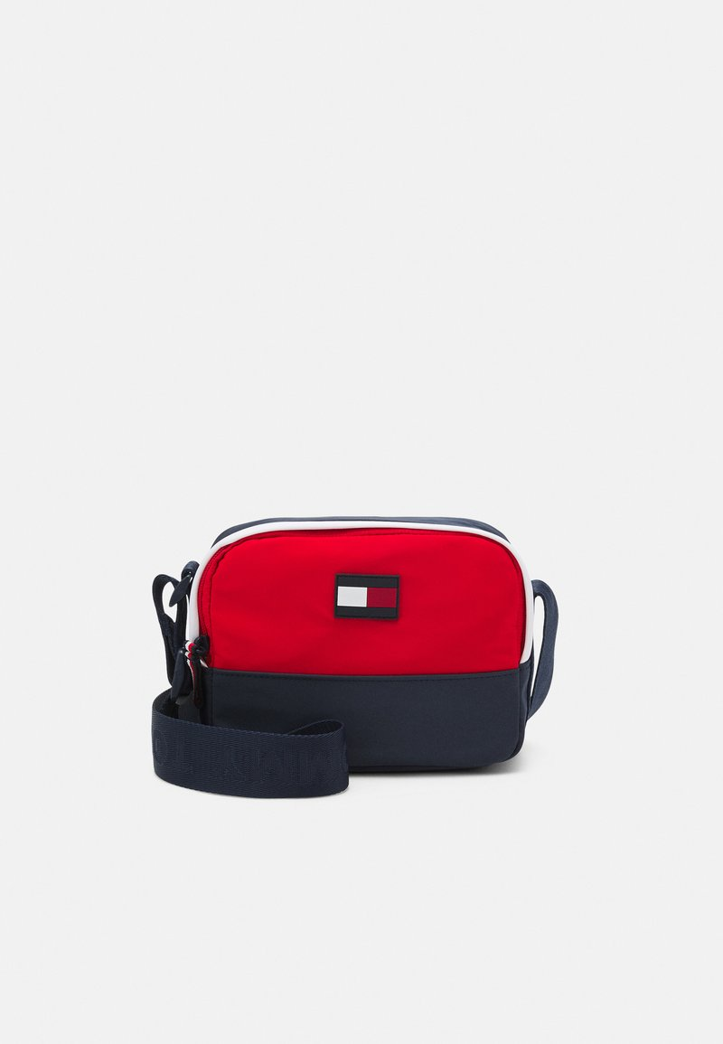 Tommy Hilfiger - YOUTH CAMERA BAG CORPORATE UNISEX - Across body bag - blue