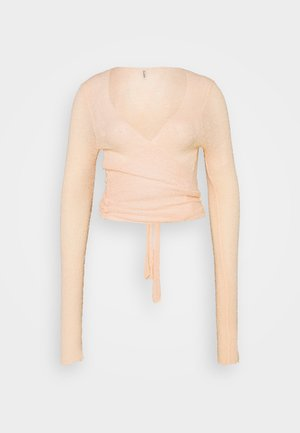 WRAP  - Jumper - peach rose