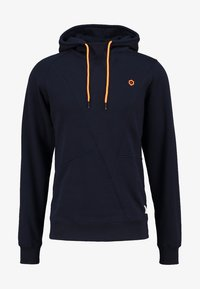 Jack & Jones - JCOPINN HOOD REGULAR FIT - Bluza z kapturem - navy blazer