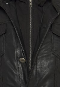 Serge Pariente - JEAN DELETION LIST - Leather jacket - black - 3