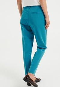WE Fashion - Trousers - petrol - 2