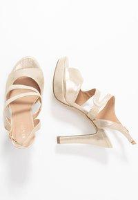 Menbur - High heeled sandals - gold - 3