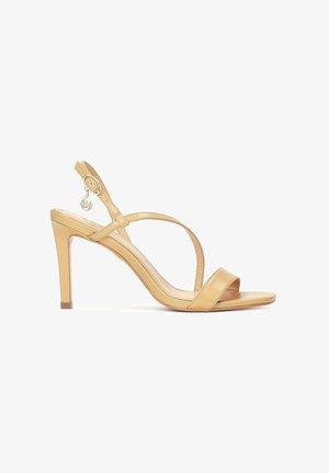 DAPHNE - High heeled sandals - light brown