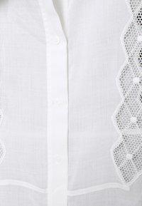 sandro - Button-down blouse - ecru - 2