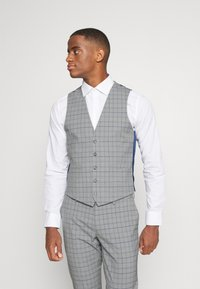 Isaac Dewhirst - THE FASHION SUIT PIECE CHECK - Completo - grey - 4