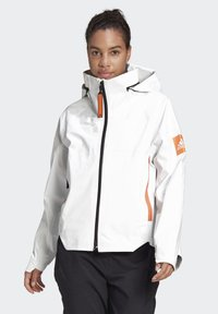 adidas Performance - MYSHELTER URBAN RAIN.RDY OUTDOOR - Waterproof jacket - white - 0
