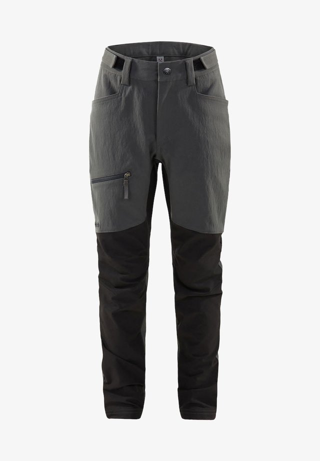 WANDERHOSE RUGGED FLEX PANT JUNIOR - Outdoor trousers - magnetite/true black