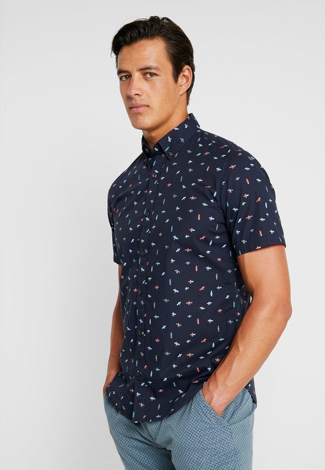 SLIM FIT - Shirt - night blue