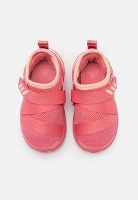 adidas Performance - FORTARUN X UNISEX - Neutral running shoes - glow pink/hazy rose/footwear white - 3