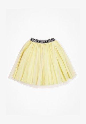 ROCK LUREX LOGOBUND - A-line skirt - mehrfarbig  gelb
