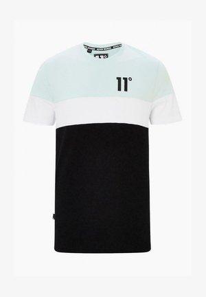 CUT AND SEW  - Camiseta estampada - glaciar green/black/white