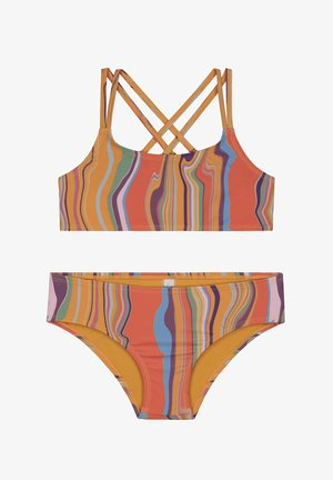 2 PIECE SET MARBLE - Bikini - multi colour
