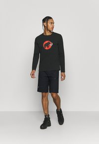 Mammut - LOGO LONGSLEEVE - Long sleeved top - black - 1