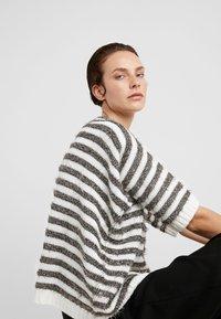 MAX&Co. - PIUMINO - Strickpullover - white pattern - 3