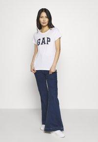 GAP - FRANCHISE TEE  2 PACK - T-shirt z nadrukiem - navy uniform - 1