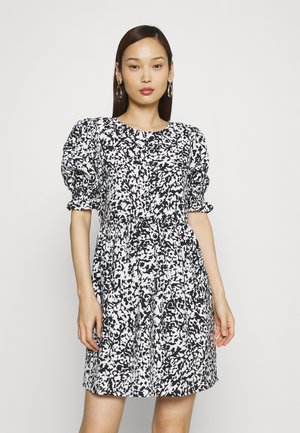ONLOLYMPIA SHORT DRESS - Kjole - black
