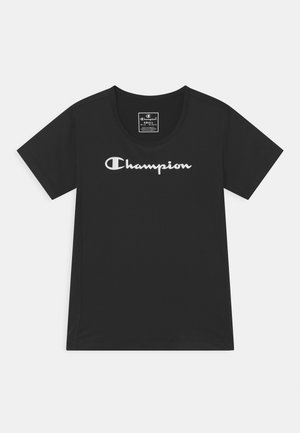 GIRLS PERFORMANCE - T-shirt con stampa - black