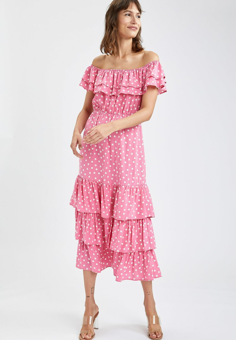 DeFacto - Day dress - pink