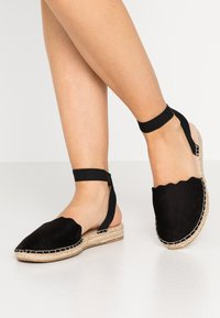 Dorothy Perkins Wide Fit - Loafers - black - 0
