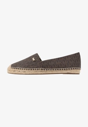 KENDRICK SLIP ON - Espadrilky - brown