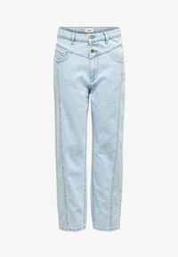 ONLY - STRAIGHT FIT JEANS ONLISLA LIFE MID ANKLE - Straight leg jeans - light blue denim - 3