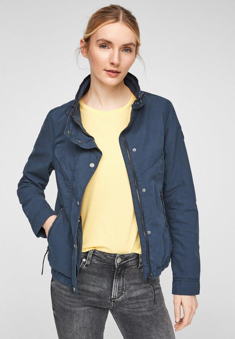 Q/S designed by - Light jacket - dark blue