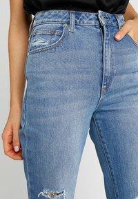 Abrand Jeans - HIGH - Slim fit jeans - blue denim - 3