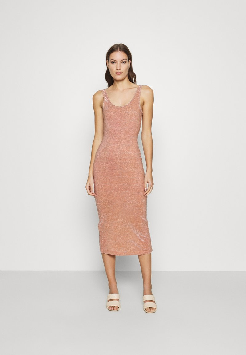 Third Form - STAR DUST SCOOPED TANK DRESS - Cocktail dress / Party dress - blush