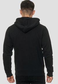 INDICODE JEANS - ELM - Zip-up hoodie - black - 2