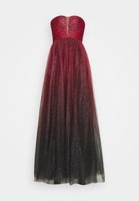 Luxuar Fashion - Iltapuku - rot/schwarz - 0