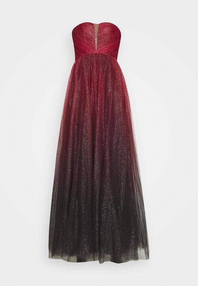 Festklänning - rot/schwarz