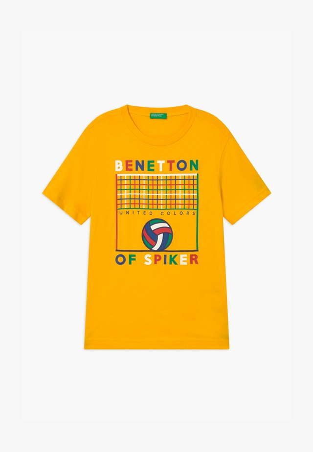 BASIC BOY - T-shirt print - yellow