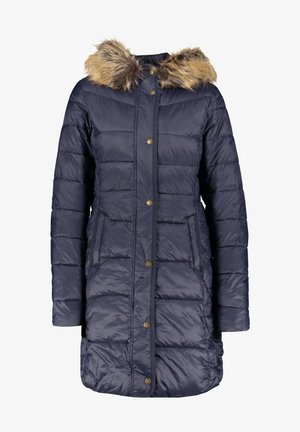 JAMISON QUILT MIT KAPUZE - Winter coat - marine