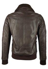 deercraft - Leather jacket - dark brown - 1
