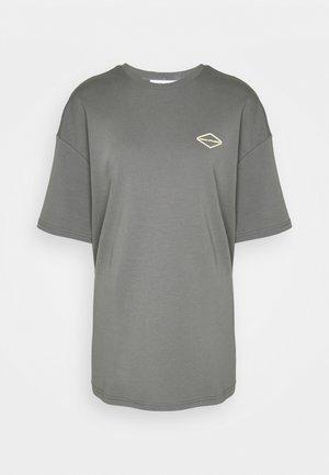 LOGO - Print T-shirt - shadowgrey
