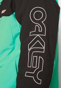 Oakley - Snowboard jacket - black/mint - 4