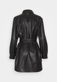Vero Moda - VMBUTTERDEBBIE  - Faux leather jacket - black