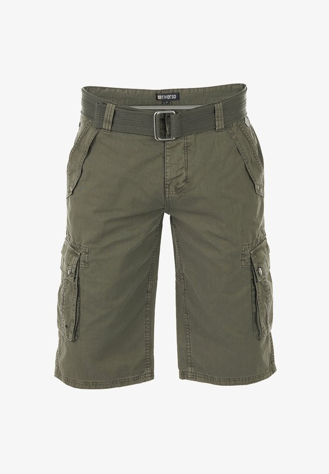 RIVANTON - Shorts - military green