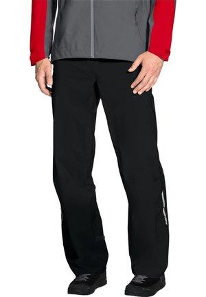HERREN RAD MAOB RAIN PANTS - Pantalon classique - black