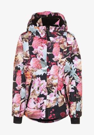 PEARSON - Ski jas - black/pink