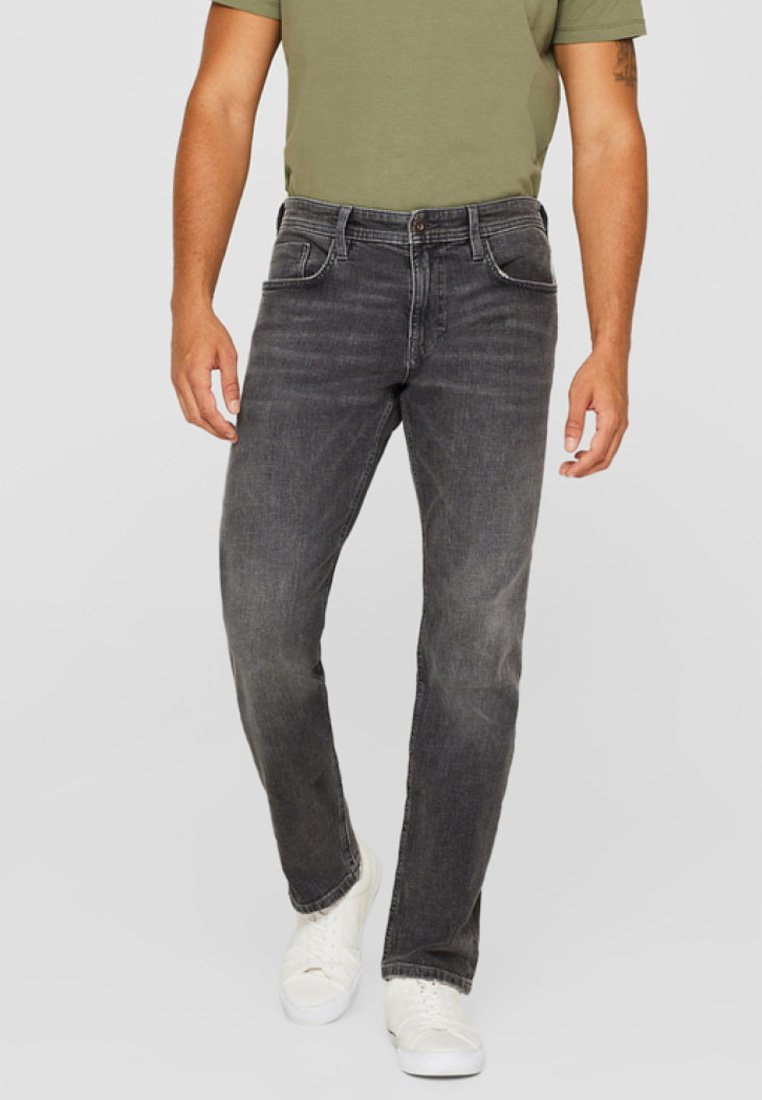 edc by Esprit - Straight leg jeans - gray
