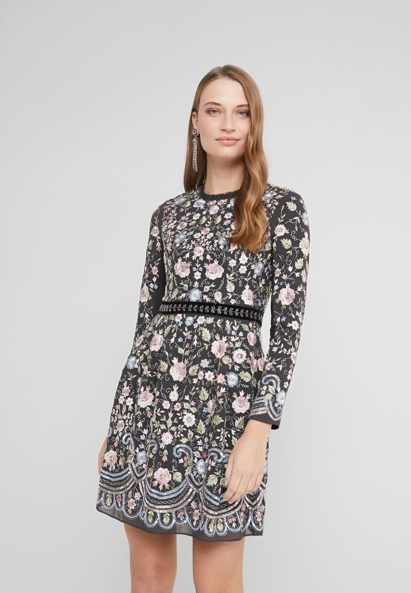 Needle & Thread - FLORAL WHISPER PROM - Cocktail dress / Party dress - graphite
