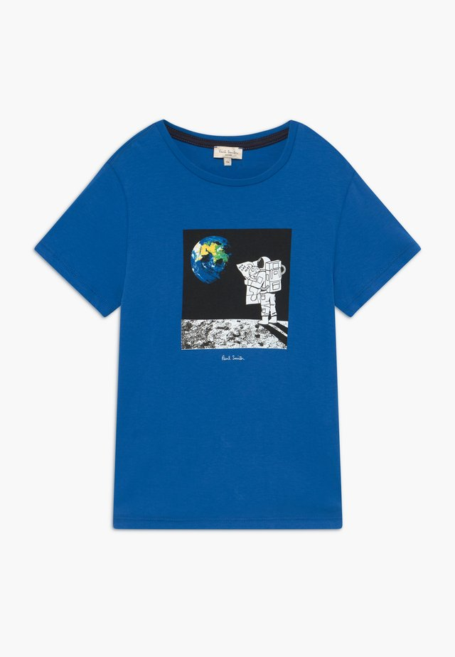 ABRIEL - Print T-shirt - victoria blue
