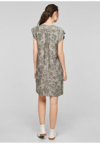 s.Oliver - Day dress - khaki aop - 2