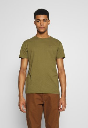 ESSENTIAL SOLID TEE - Basic T-shirt - uniform olive
