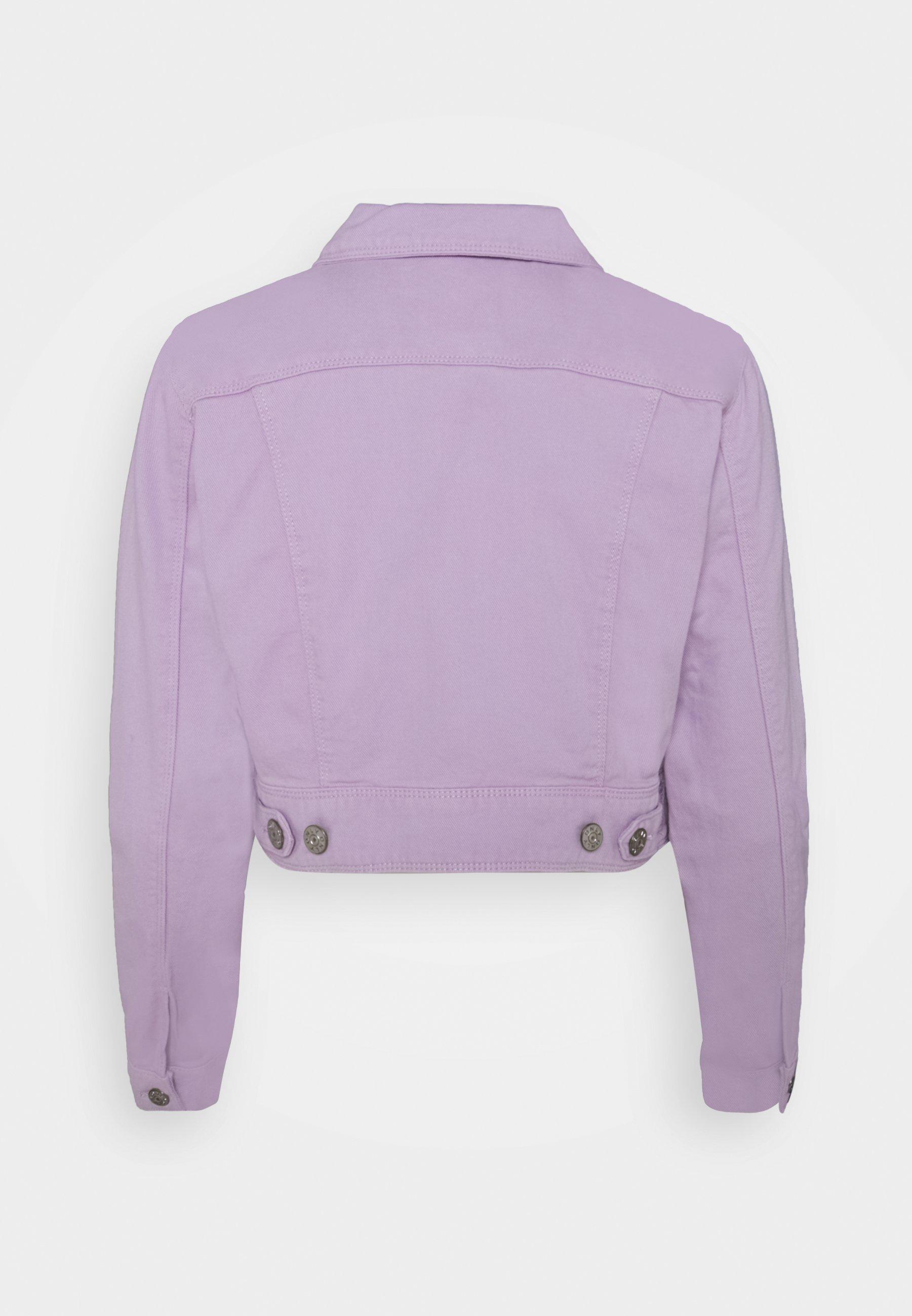 Women ONLWESTA COLOR CROPPED JACKET - Denim jacket